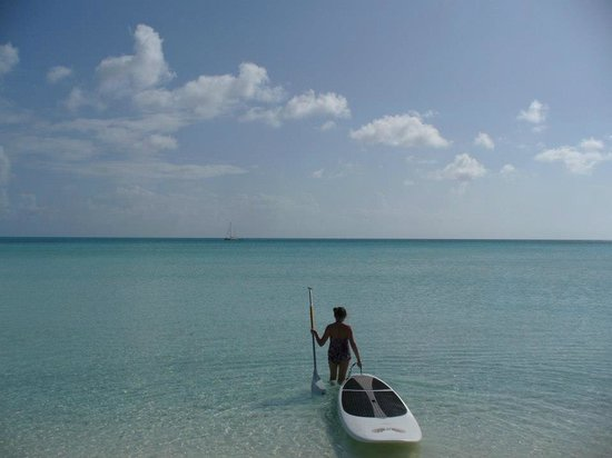 Cape Santa Maria Beach Resort & Villas: Paddleboarding
