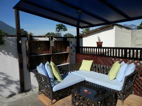 Mananas Hotel: la terrasse