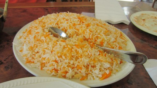 Curry Village Restaurant: Pilau rice