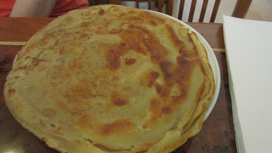 Curry Village Restaurant: Plain paratha