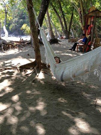 Arenas del Mar Beachfront and Rainforest Resort, Manuel Antonio, Costa Rica: Hammock on the beach