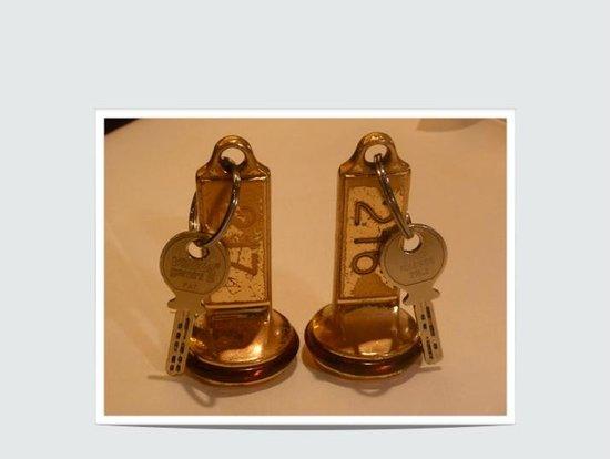 Resort Hotel Alex: Room Keys