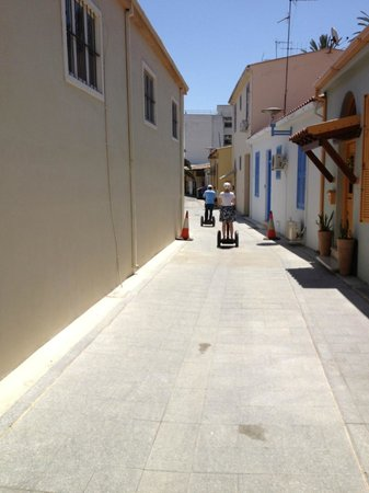 Segway Station Tour Experience: Tooling down the backroads of Nicosia's on the Segway