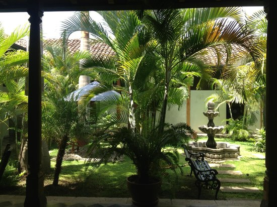 Backpackers Inn: Courtyard