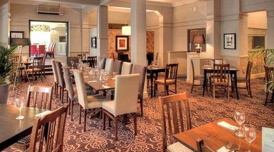 Boddington Arms: Restaurant area
