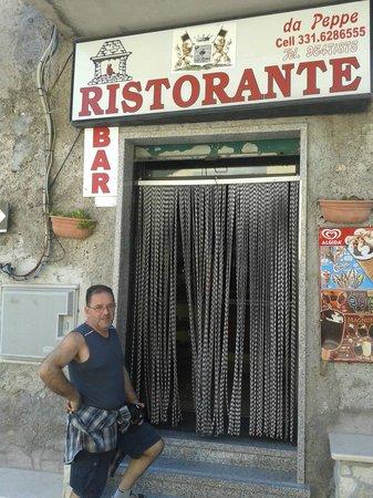 Da Peppe Guadagnolo: dopo pranzo....e si vede......