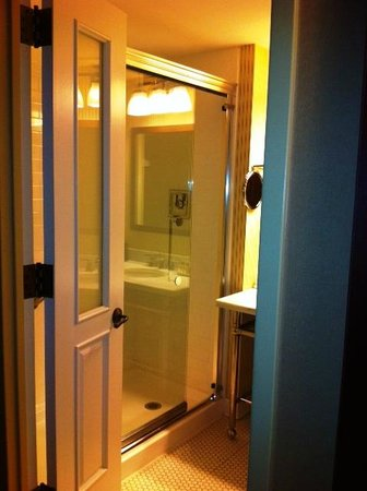 Sheraton Tarrytown Hotel: Large shower