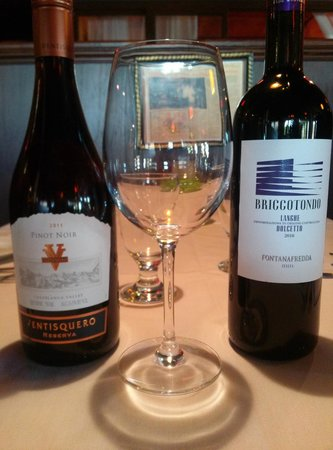 Marianna Ristorante: wines
