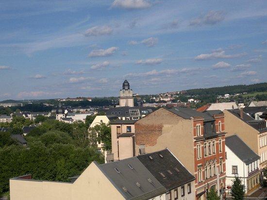 City Hotel Plauen: Aussicht vom Fenster 2