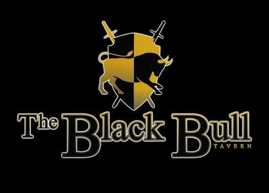 The Black Bull Tavern: Logotipo