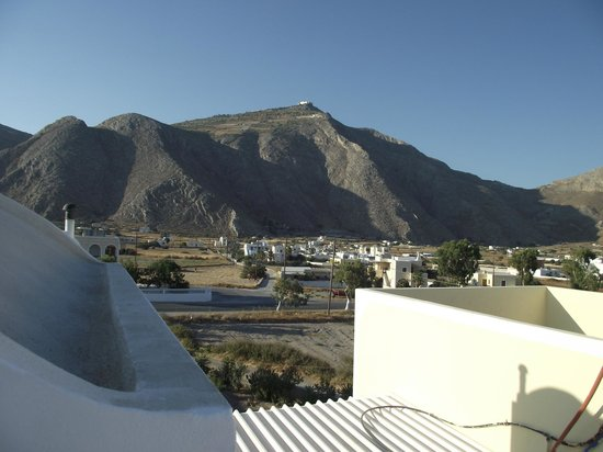 Marina's Studios: vista dal balcone