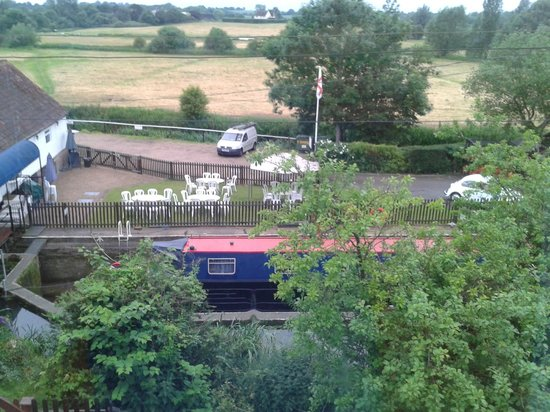 Little Hallingbury Mill: View from the bedroom window