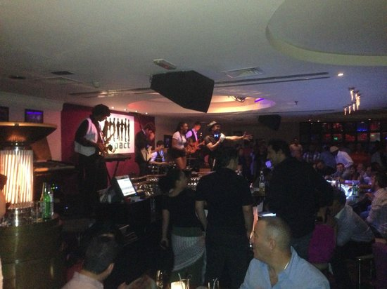 Jazz Bar & Dining: Impact - The Current Band at Jazz Bar
