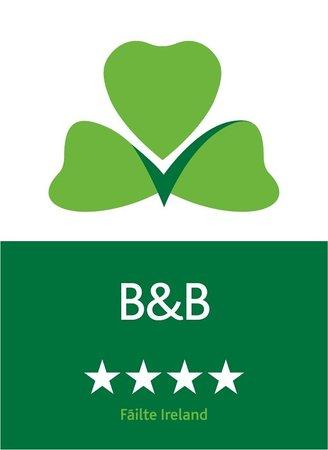 Portumna House Bed & Breakfast: Portumna House 4**** B&B Failte Ireland Four Star Rating
