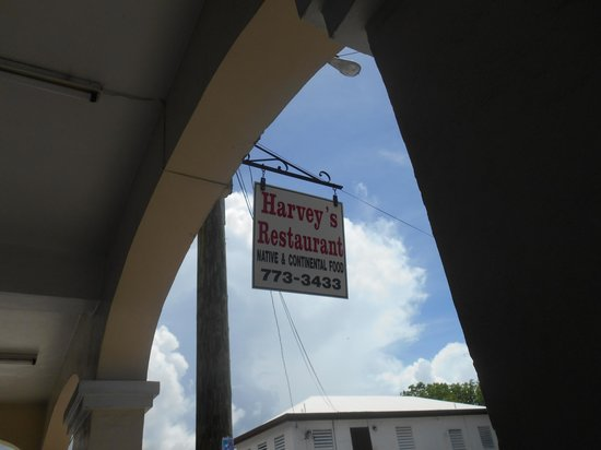 Harvey's : Harvys sign