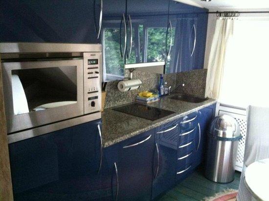 City-Apartments am Park: Our kitchenette