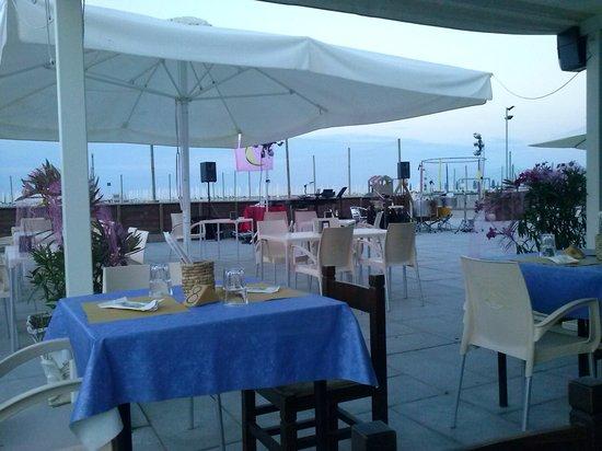 nuovo bar ristorante apollo: Notte Rosa 2013 - inizio serata