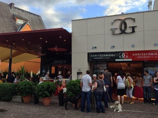 Goritschniggs Lunch Am Tag & Steakhaus Am Abend: Lokal