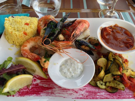 Restaurant Le Rivoli: L'assiette de la mer