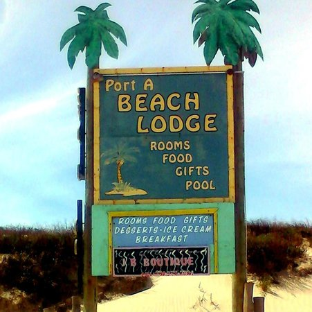 The Beach Lodge: At Beach Marker #9