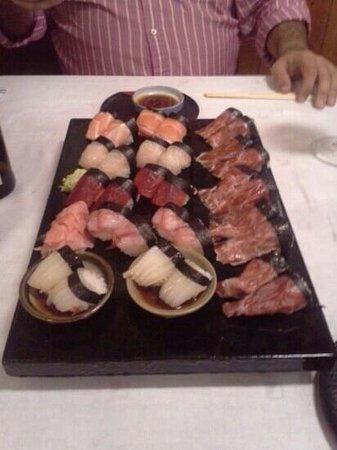 Hanaita: Superb sushi, both traditional as with Jabugo ham