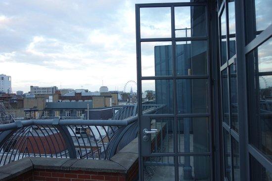 The Soho Hotel : Balcony room 507
