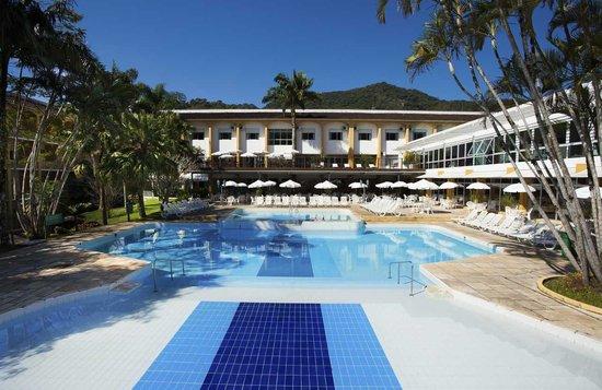 Plaza Caldas Da Imperatriz Resort & Spa: Piscina Externa com água Mineral