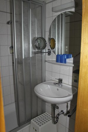 Aparthotel Stadtgarten: Bad