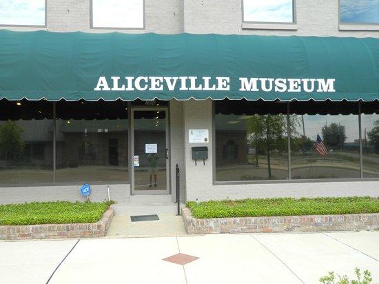 Aliceville, AL: museum entrance