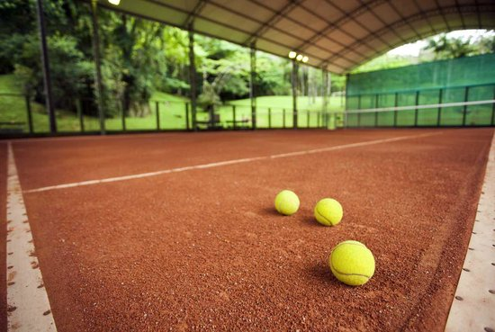 Plaza Caldas Da Imperatriz Resort & Spa: Quadra de Tênis