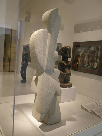Cubist sculpture by Jaques Lipchitz at the Smart Museum of Art