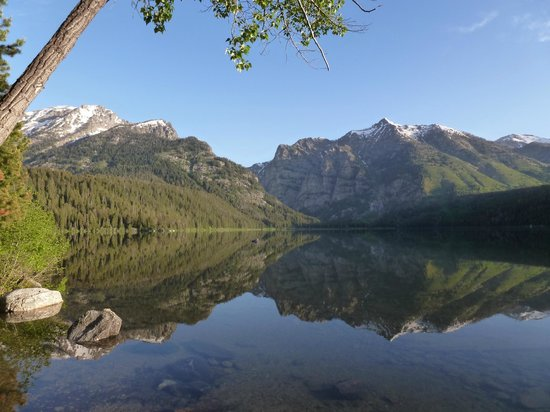 Laurance Rockefeller Preserve: phelps lake