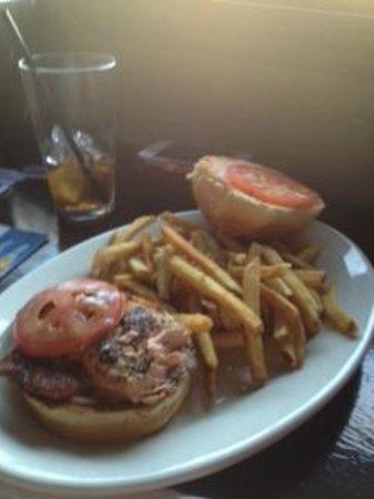 The Chop Shop: salmon burger