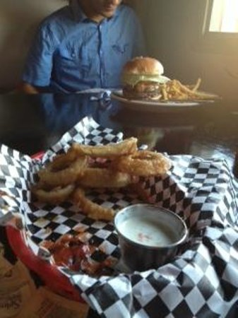 The Chop Shop: rings and burger