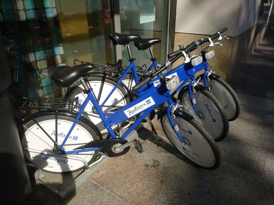 Radisson Blu Hotel Kraków : Hotel Free Bikes