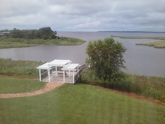 Holiday Inn Express Kent Island: view from our 3rd floor room