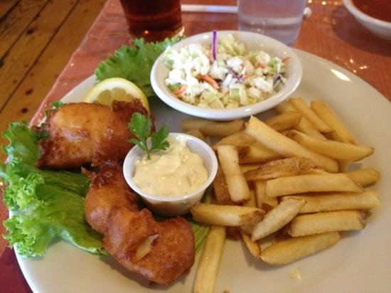 Salvador's Mexican Restaurant: fish & chips