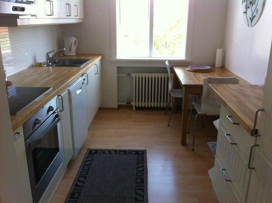 Hansen Apartments : cuisine bien équipée