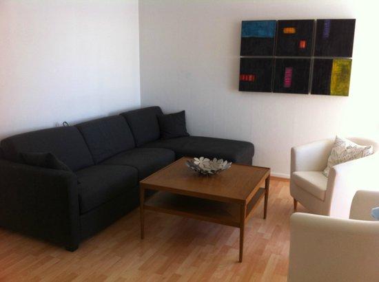 Hansen Apartments : salon confortable