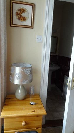 The Village B&B: Site table far from bed