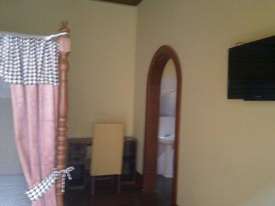 Casona del Muelle: Flat screen on the right