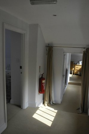 The White Cliffs Hotel: corridor to far room
