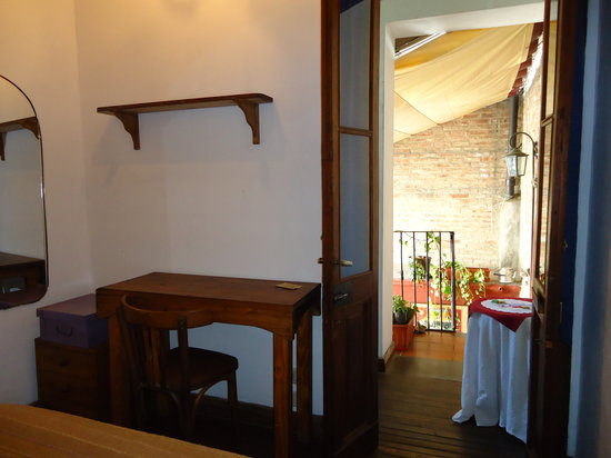 La Casa de Maria Tango: room close by the terrace
