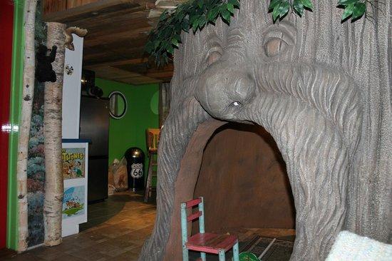 Adventure Suites: treehouse