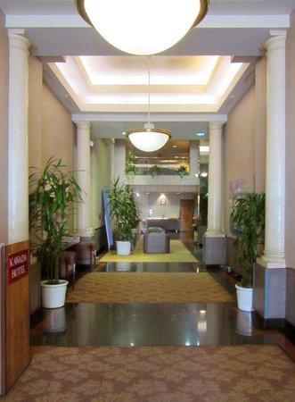 Kawada Hotel: Lobby Entrance