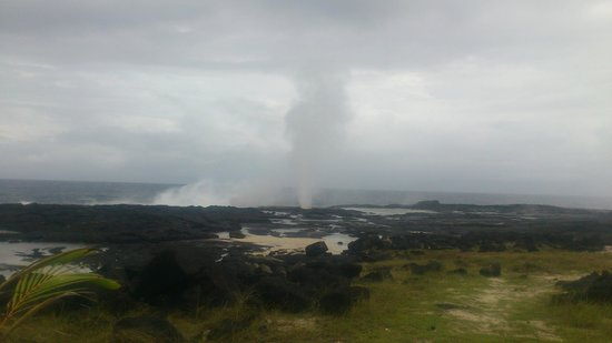 Alofaaga Blowholes : the blow