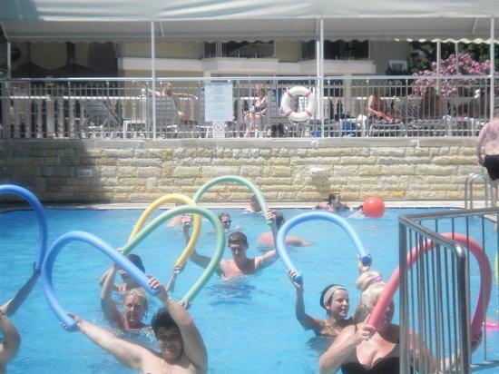Mersoy Exclusive Aqua Resort: Water Gym - Mon-Sat 11.30am