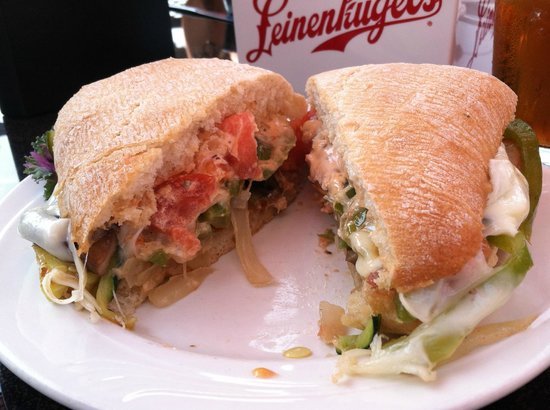 The Postmark Grille : Veggie Sandwich on Ciabatta