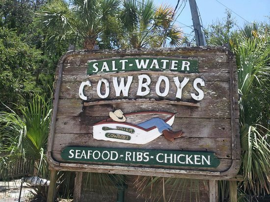Salt Water Cowboy's: Salt-Water Cowboys