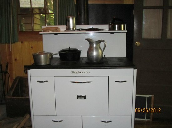 Seneca State Forest: Read about cooking on wood stove before visiting